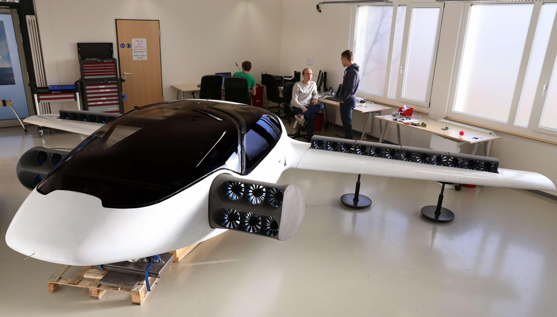 Il prototipo del Lilium Jet