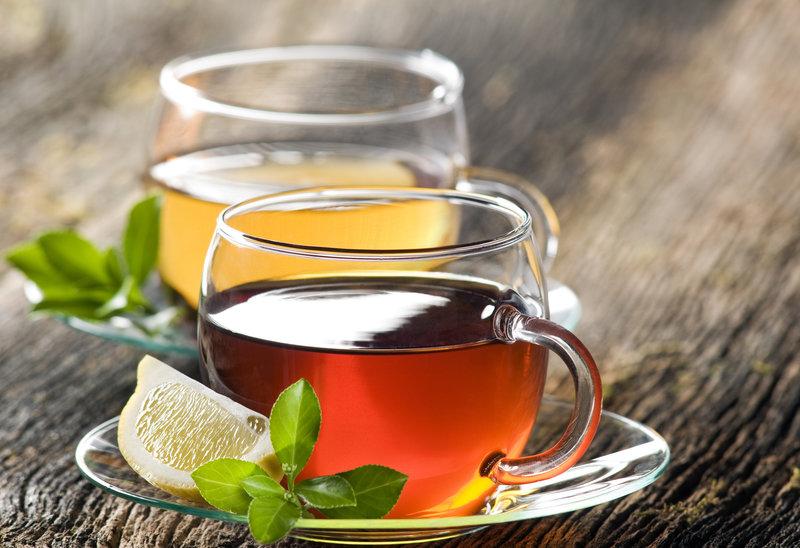 Tè con limone