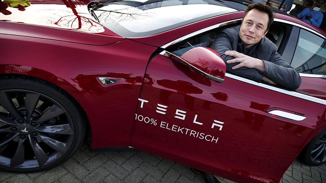 Elon Musk, patron di Tesla (foto: Getty)