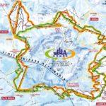 La Sellaronda - il giro sciistico intorno al grande massiccio del Sella nelle Dolomiti