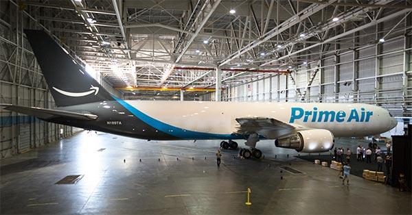 Un aereo della flotta Amazon Air